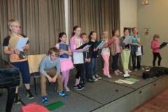 Auftritt des Kinderchors Juni 2013