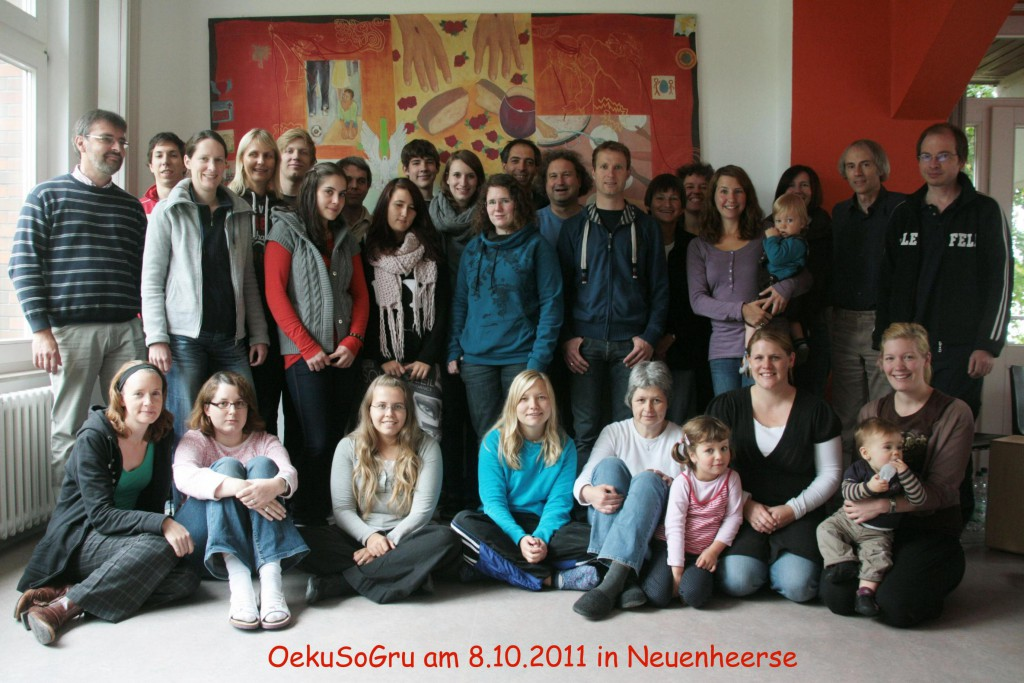 Gruppenbild in Neuenheerse