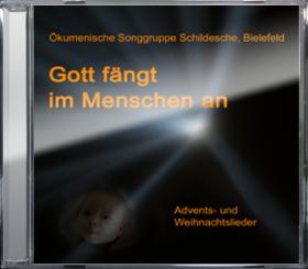 Cover CD Gott fängt im Menschen an